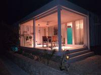Für Ihre Privatsspähre sind Vorhänge vorhanden. - Bild 17: OIKOS Resort Buqez #30 - Beachvilla Stella